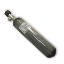 New fashion! 4500psi 2L CE Composite Carbon Fiber  Air Bottle Gas Pcp  RifleTank With Air Valve From Acecare 2019 Hot AC10210
