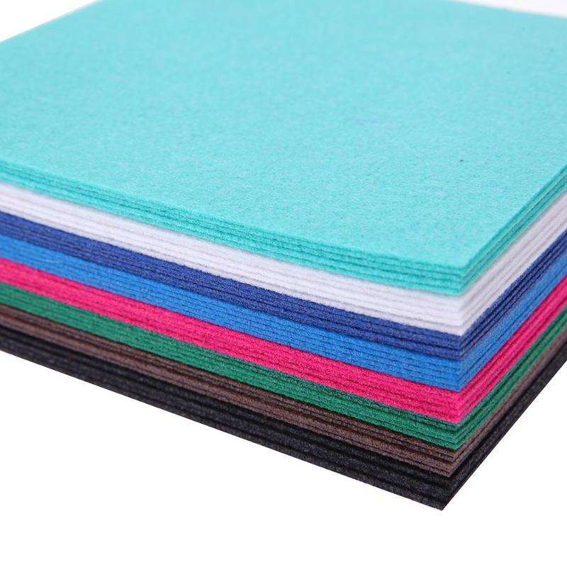 HTB1Mta9a0fvK1RjSszhq6AcGFXah 40pcs/set Non-Woven Felt Fabric Polyester Cloth Felt Fabric DIY Bundle for Sewing Doll Handmade Craft Thick Home Decor Colorful