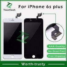50 шт./лот Черный/Белый AAA 5,5 Замена с 3D сенсорным экраном для iPhone 6s Plus ЖК-дисплей Pantalla клон дигитайзер сборка