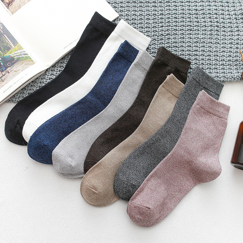 2019 Men's Cotton Socks High Crew Socks Man Casual Sport Funny Socks Male Sokken Sox Hipster Hosiery Chaussette Homme