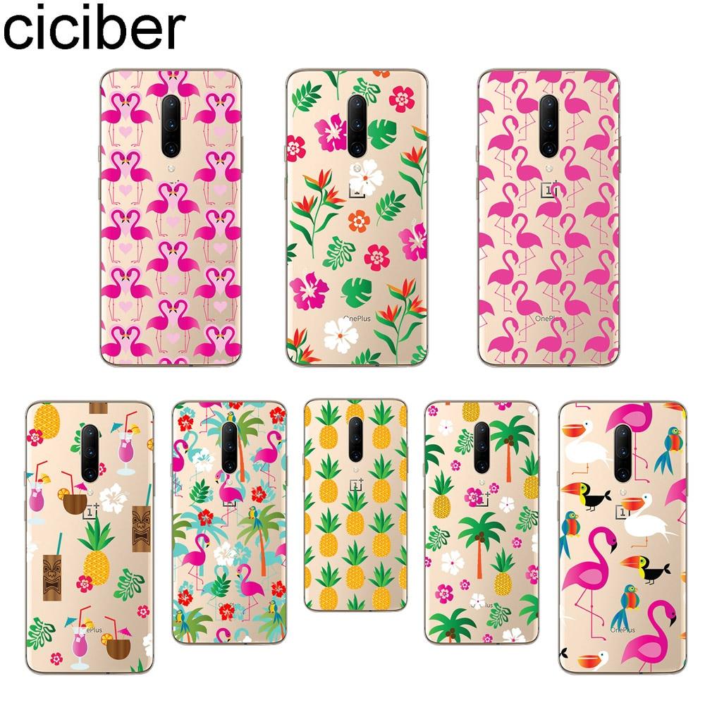 ciciber Flamingo Phone Case For font b Oneplus b font font b 7 b font font