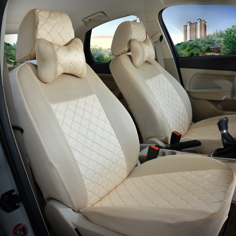 Back and Front Seat Covers for Volswagen VW Polo 4 2003