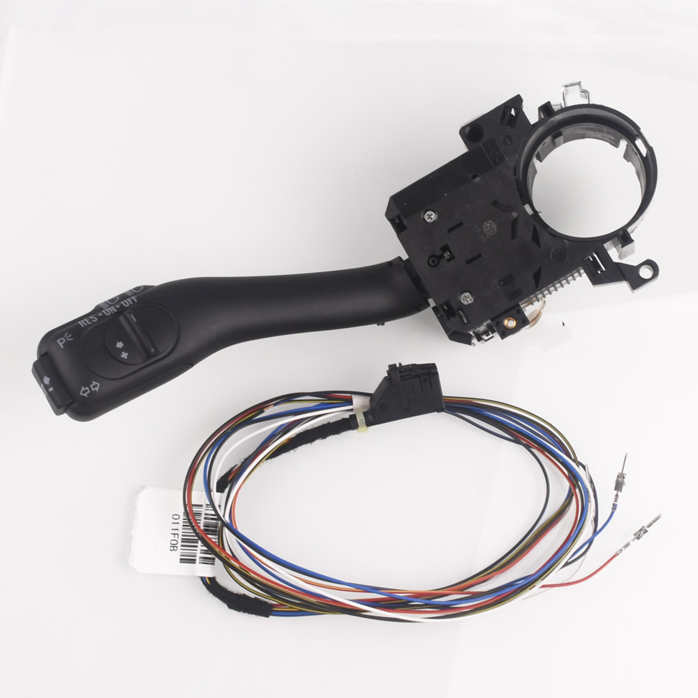 Régulateur de vitesse Tige Commutateur Système Pour Audi A2 A3 A6 S6 RS6 TT Pour Skoda Octavia Fabia 8L0953513J avec Câbles