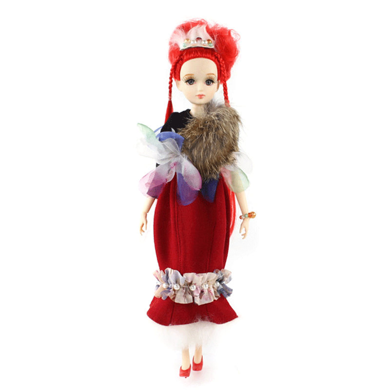 ICY Free shipping BLYTH bjd neo Fortune days fashoin girl doll Xiaojing JOINT body red hair dress box shoes stand toy gift 32cm free shipping icy doll joint body natural skin black hair bjd toy gift bl117