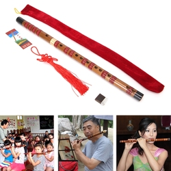 1pc Pluggable Traditional Bamboo Flute Chinese Dizi Musical Instrument of C Key