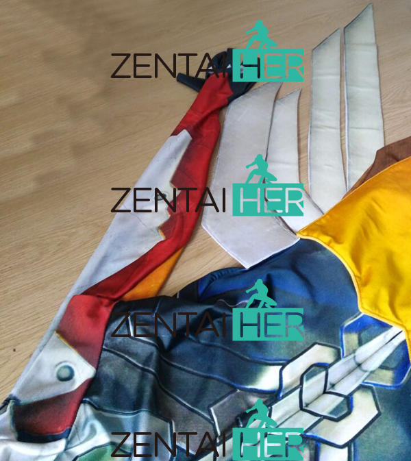 ZentaiHero 3D Басып шығару Mercy Costume Armored W Strips - Костюмдер - фото 4