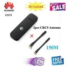 Разблокированный Huawei e3372 e3372h-607 e3372h-153 e3372s-153 e3272s-153 150 Мбит/с 3G 4G аппарат не привязан к оператору сотовой связи USB ключ USB палочка данные карты USB ...