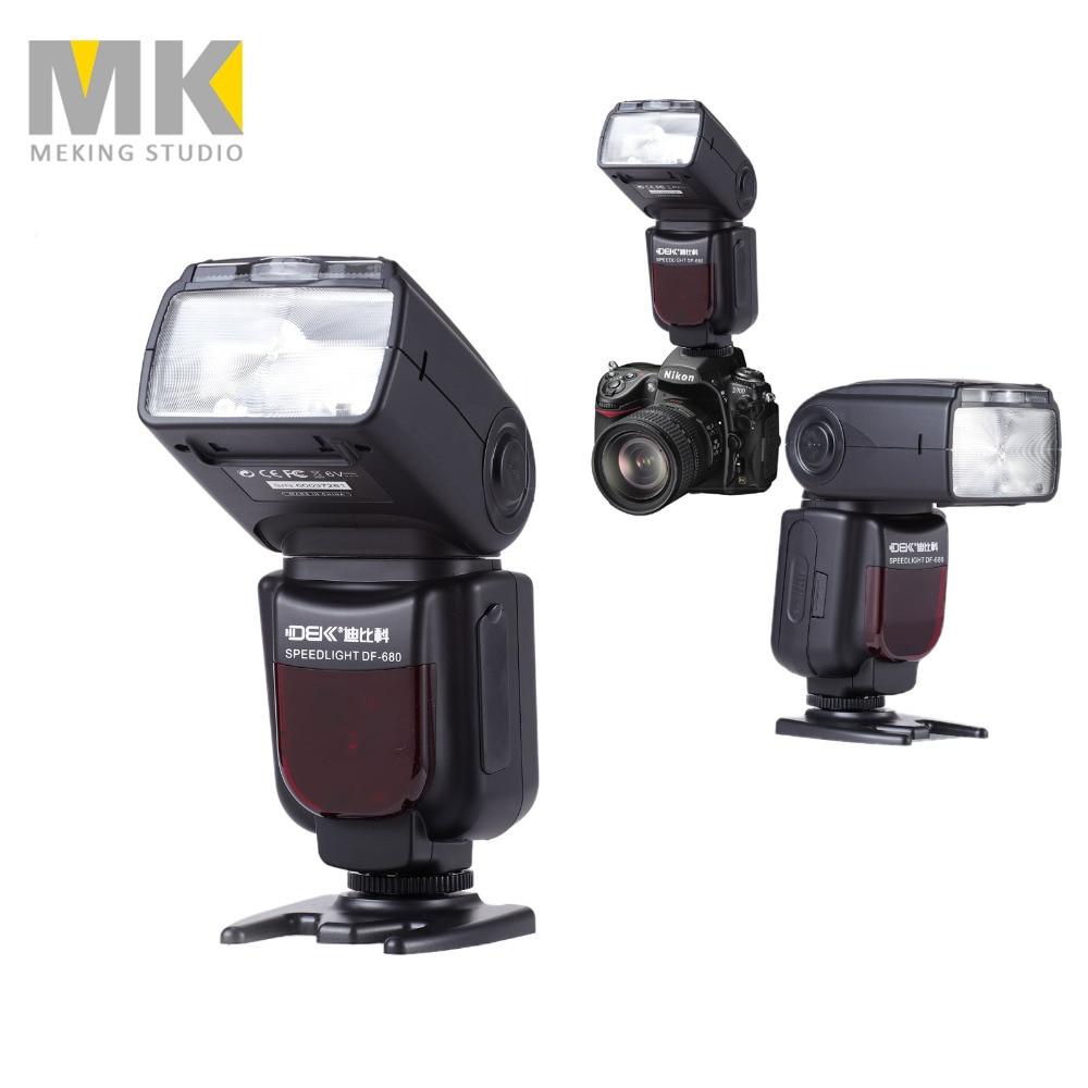 DBK DF-680N GN58 TTL Wireless Speedlight Speedlite High Speed Sync 1/8000s Flash light for Nikon D7000 D90 D7100 D5100 D5200 цены онлайн