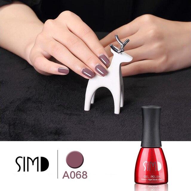 SIMD 196 Colors Gel Nail Polish UV Gel Polish Long-lasting Soak-off LED UV Gel Color Hot Nail Gel Lacquer for Nail Art