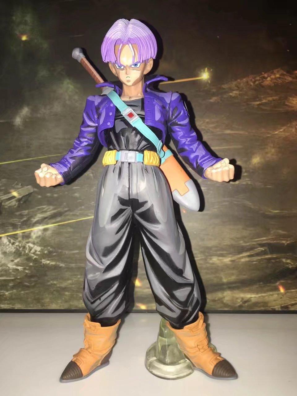 26CM original banpresto Trunks DRAGON BALL Z Figurine MSP figure pvc toy doll master stars piece