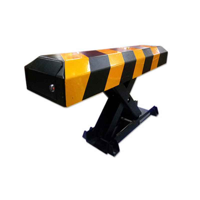 Remote controls automatic parking barrier,reserved car lock,parking facilities