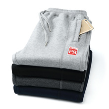 New Men Casual Clothing Plus Size 4XL Winter Fashion Loose Pants Cotton Thick Warm Loose Trousers Man Autumn Elastic Sweatpants