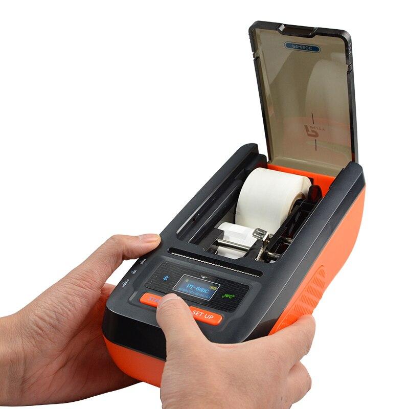 Smart portable label printer Waterproof sunscreen thermal transfer