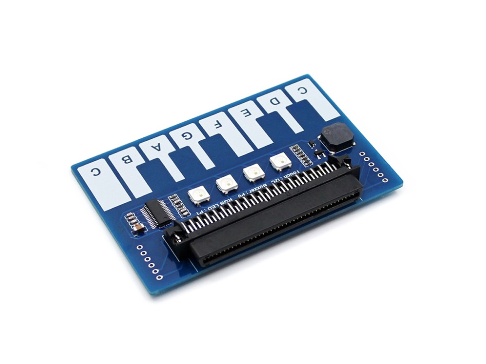 Mini piano expansion board module dazzle coloured lights / buzzer / keypad I2C interfaceMini piano expansion board module dazzle coloured lights / buzzer / keypad I2C interface