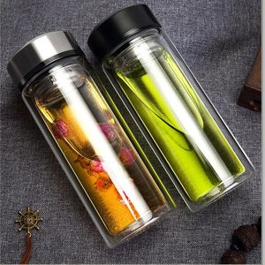 320ML Glass Water Bottles for Business M