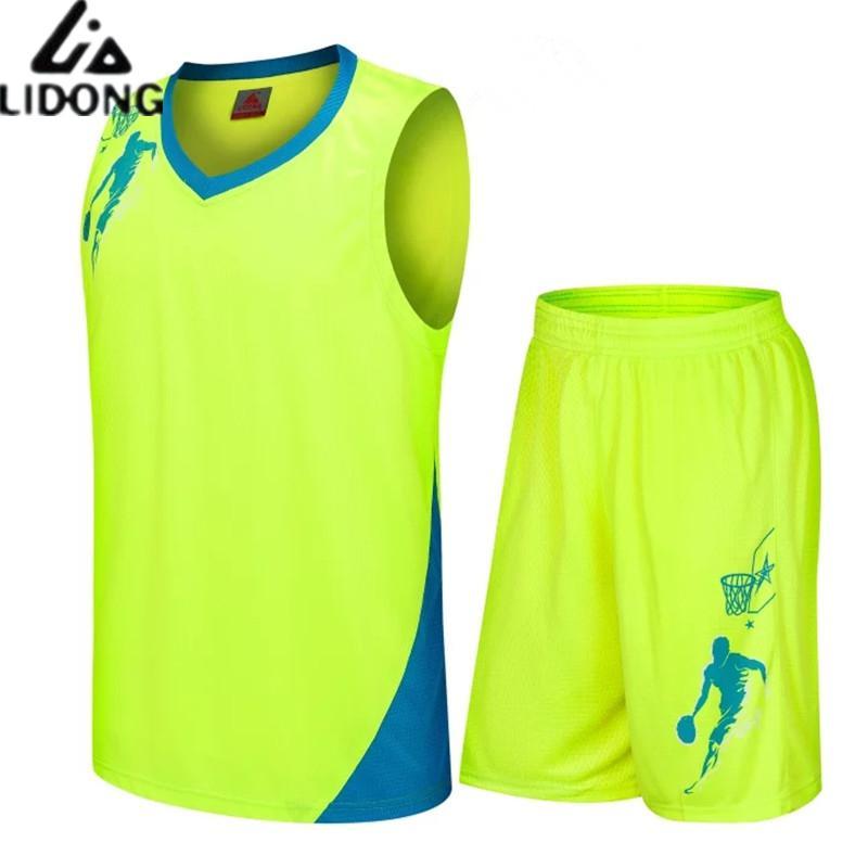 גברים בסגנון חם סטי ג 'רזי כדורסל ספורט חליפות בגדי ערכות מדים צוות גופיות מכללת כדורסל נסיגה מותאם אישית Diy