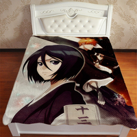 Anime Manga Bleach Bed Sheet 150*200cm Bedsheet 002