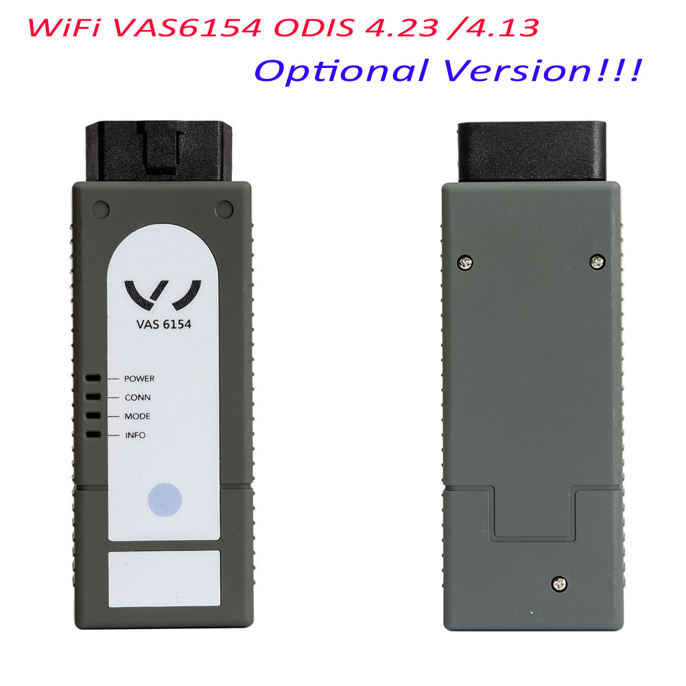 New WiFi VAS6154 ODIS 4.13 VAG Diagnostic Tool For VW For Audi For Skoda VAS6154 ODIS 4.13 vas 6154 Optional Version 2017 vas5054a vas5054 odis 3 01 with oki vas 5054a full chip bluetooth support uds protocol diagnostic tool for vw seat skoda