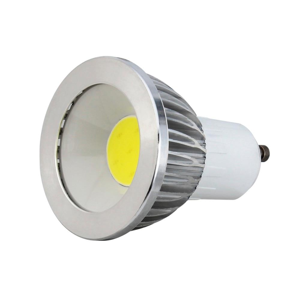 Super Bright GU10 Bulbs Light Dimmable Led Warm/White 85-265V 5W 7W 9W LED GU10 COB LED lamp light GU 10 led Spotlight