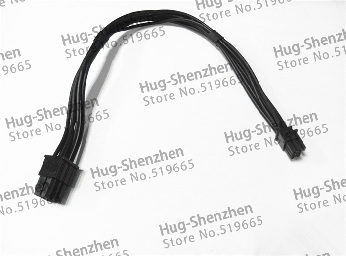 Купить с кэшбэком Mac pro G5 mini 6pin to pcie 6pin 6 pin video card power cable support for GTX480 gtx680--50pcs/lot