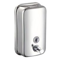 Chrome Finish Soap Shampoo Dispenser Mounted Shower Bathroom Model 500ml