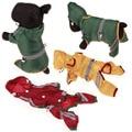 XS-2XL Pet Dog Raincoats Reflective Belt Decoration Safe Night Dog Coat Waterproof Hot Sale Pet Protect with Hat