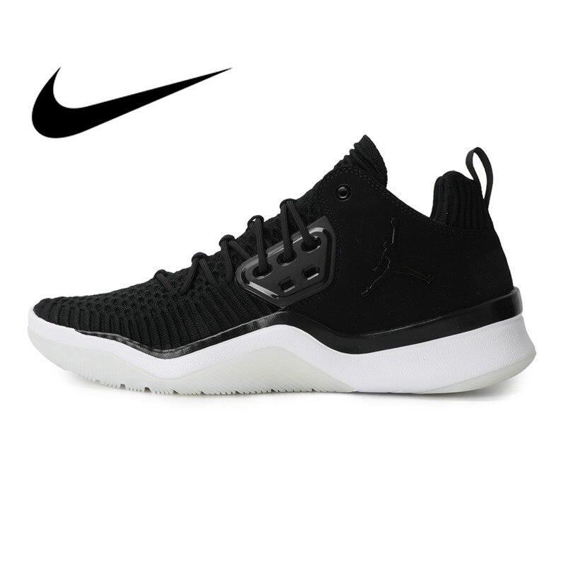 D'origine de nouveauté 2018 NIKE Hommes chaussures de basket Sports de Plein Air Sneakers Jordanie Officielles Durable Respirant Chaussures AO2649