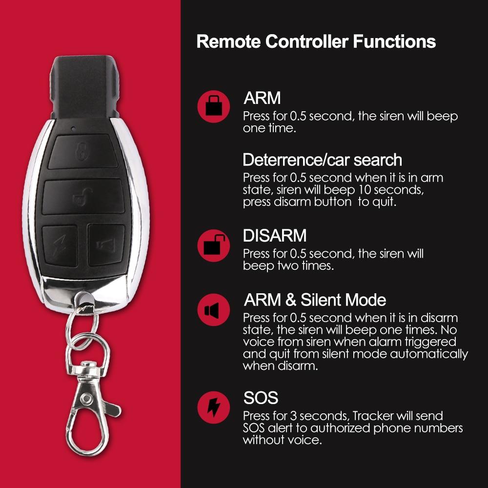Motorcycle GPS Tracker Car Vehicle Tracker GPS Tracking Device Coban TK103B  2G Cut Off Engine Voice Monitor Shock Alert FREE APP