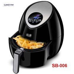 220 V 3.2L Capacity LCD Intelligent Electric Fryers Without Oil-Free Frying Chips Home Machine Using Electric Air Fryer SB-006