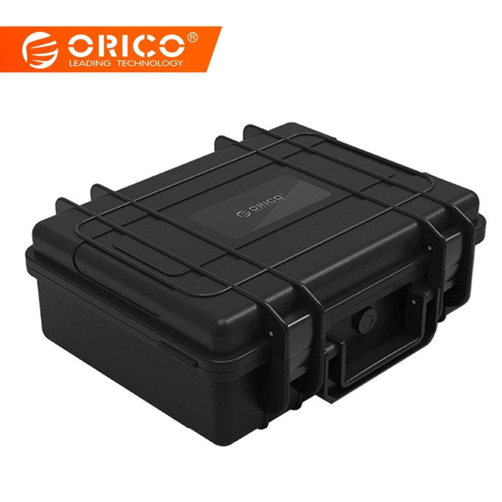 ORICO 20 bay 3,5 дюймов жесткий диск защитный чехол водостойкий + ударопрочный + пылезащитный функция защитный замок и защелкивающаяся конструкци...