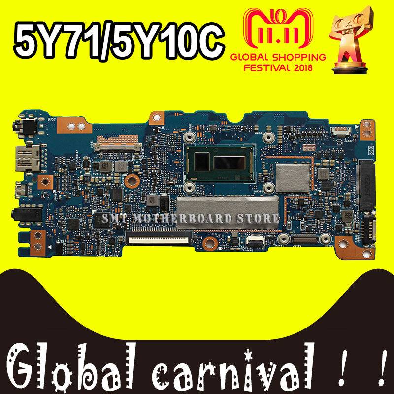 цена UX305FA motherboard M-5Y71 Processor 8 g Memory for ASUS UX305F U305F UX305 Motherboard laptop UX305FA board UX305FA motherboard