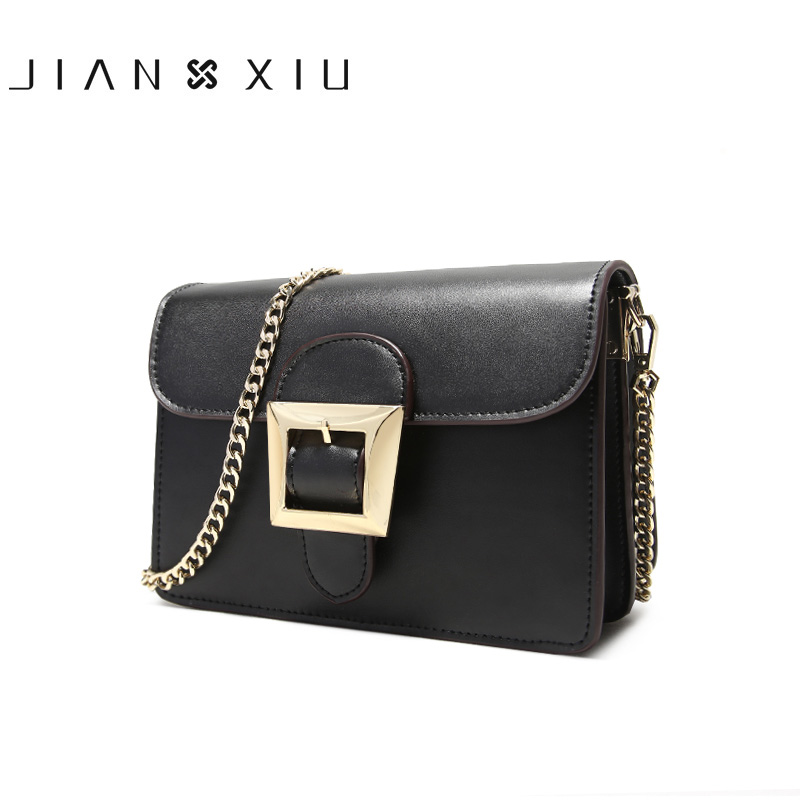 JIANXIU Brand Women Messenger Bags Bolsa Bolsos Mujer Sac Tassen Shoulder Crossbody Chain Borse Bolso 2017 New Small Leather Bag flower princess crossbody bags for women embroidered nylon shoulder bags schouder tassen dames ladies messenger bolsos mujer