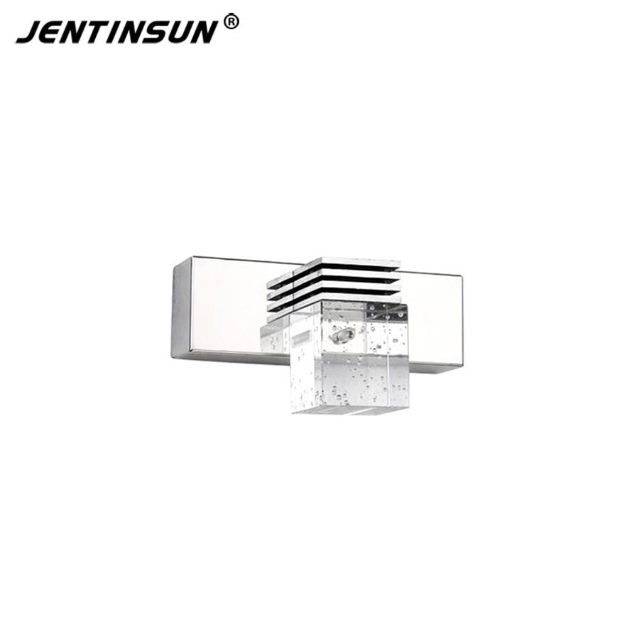 ФОТО Warm white 1 Head 3W 14cm LED Modern Crystal Wall Lights Lamp Sconce Wall Light Fixture