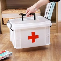 B2N21 B2N40 3M Portable Multi Layers First Aid Kit Medicine Receipts Household Medicine Kit