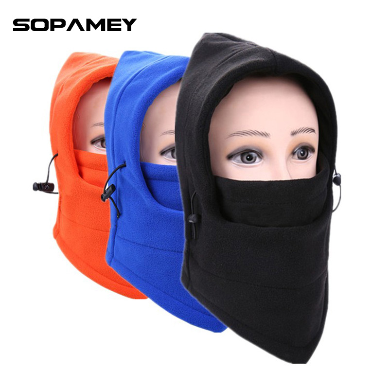 Winter Hat CS Skull Mask Balaclava Face Mask Neck Warmer Caps Hood Bike Wind Stopper Face Mask Beanie Warm Women Knitted Cap uv cs airsoft mask earmuffs professional wind 3 color paintball mask shock full face protect mask free shipping