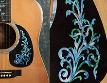 Inlay Sticker Decals for Guitar Bass – Vintage Vine, Mixed Color or White