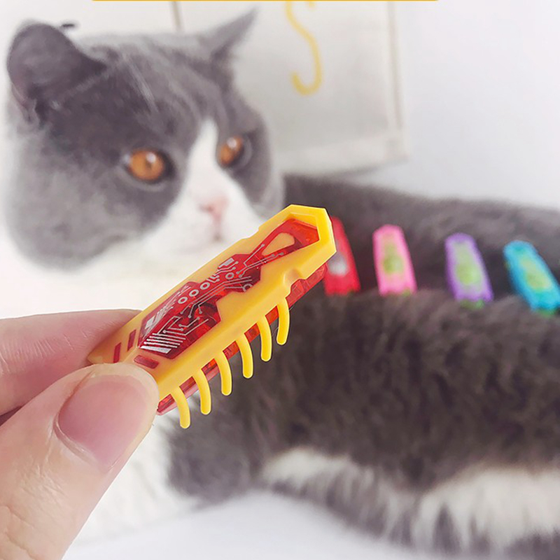Powered Fast Moving Micro Robotic Bug Toy For Entertaining Your Pets, Cats-go-crazy Toys, Cat Toy