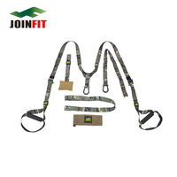 JOINFIT Unisex Camouflage Strength Training Suspension Strap Hanging Training Strap Nylon Resistance Bands Fitness Equipment