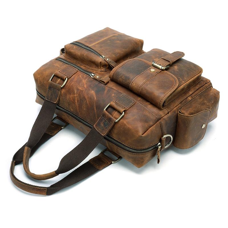 WESTAL men s briefcase leather laptop bag men shoulder bag male briefcases handbags office bags for WESTAL men's briefcase leather laptop bag men shoulder bag male briefcases handbags office bags for men business porte document
