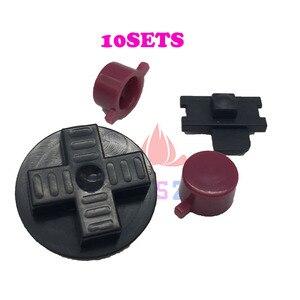 Image 2 - Juego de 10 botones para Nintendo Game Boy system, carcasa negra y gris, DMG 01
