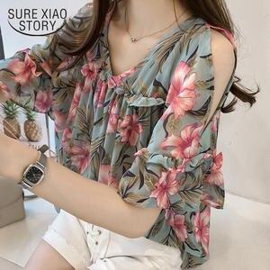 4950f80c2f31f SURE XIAO STORY 2018 plus size tops blouses women shirts