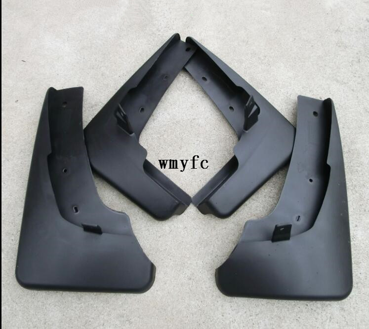 цена на Set Molded Car Mud Flaps For Nissan X-Trail X trail T31 Splash Guards Mud Flap Mudguards Fender 2008 2009 2010 2011 2012 2013