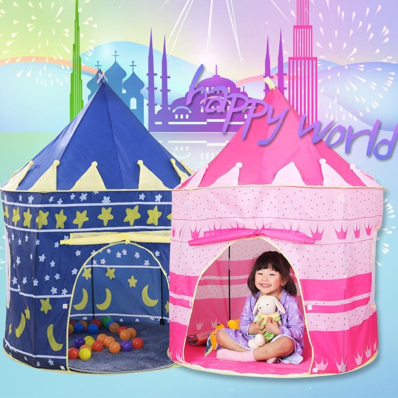 Divertimento all'aria aperta Giocattoli Per La Tenda Del Gioco Del Bambino Piscina di Palline per Bambini Carino Tenda Per I Bambini della Casa del Gioco Oceano Palla 100 pz bambini Tende Facile Babysitte