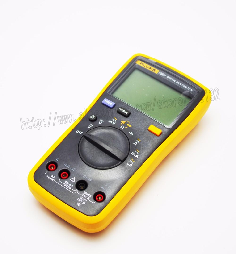 Fluke 15b Digitale Multimeter Tester Dmm Met Tl75 Meetsnoeren Testo 770 1 Tang Ampere Clamp Meter Include Bag Standaard Accessoires