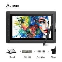Artisul D13S графический планшет монитор 8192 чувствительность давления 13,3 дюймов ips ручка чертеж дисплей монитор с подставкой 1920×1080