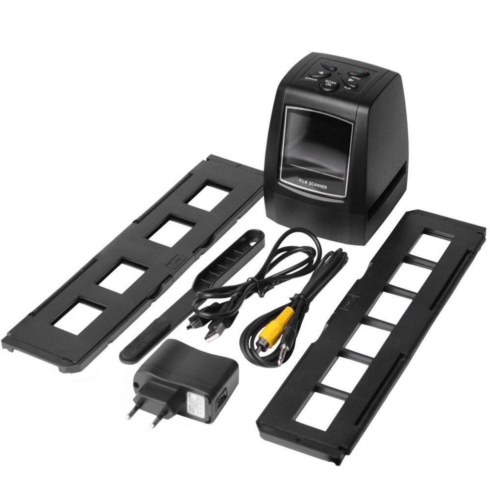Hohe Schnelle Foto Printe Auflösung Foto Scanner 35mm/135mm Rutsche Film Scanner Digital USB Film Converter 2,36