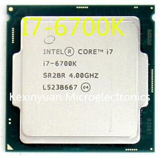 Original Intel Core I7 6700K SR2BR/SR2L0 CPU 4.00GHz 8M 91W 14nm LGA1151 I7-6700K Quad-core Desktop Processor