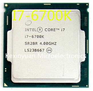 Processeur d'ordinateur de bureau Quad-core Intel core I7 6700K SR2BR/SR2L0 4.00GHz 8M 91W 14nm LGA1151 I7-6700K