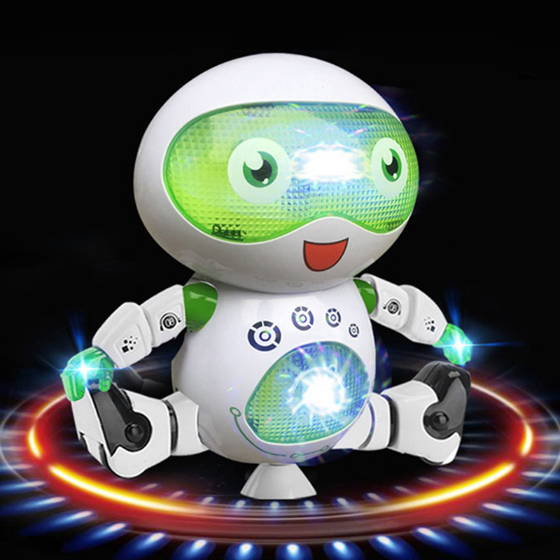 Children S ElectricToys Singing And Dancing Intelligent Robots Baby Toys Luminous Robots Toys Singing And Dancing