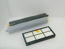 Tangle-Free Debris Extractor Set + Hepa Filters replacement Kit For iRobot Roomba 800 series 870 880